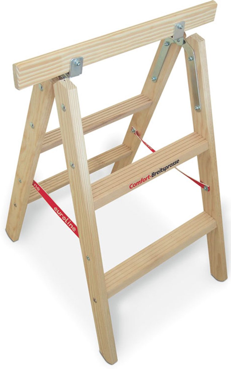 euroline Holz-Tapezierbock Comfort 2x2 Sprossen