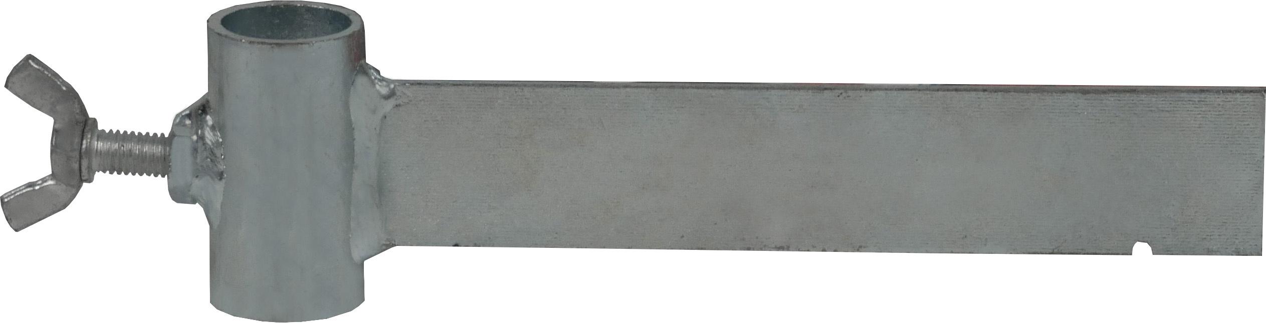 Schake Richtschnurhalter verzinkt für Schnurpfähle Ø 18 mm