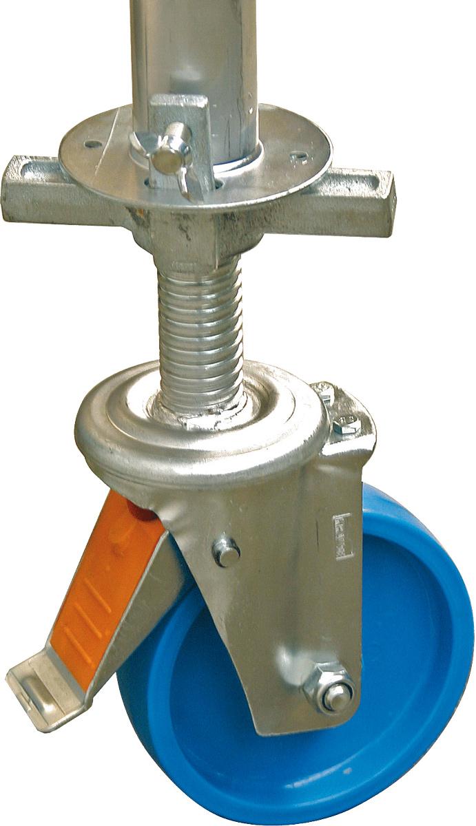 Krause Rollgerüst ClimTec Fahrrollensatz höhenverstellbar Ø 150 mm