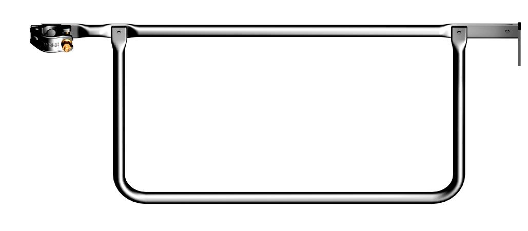 Layher Blitz Doppelstirngeländer 1,09 m SW 22