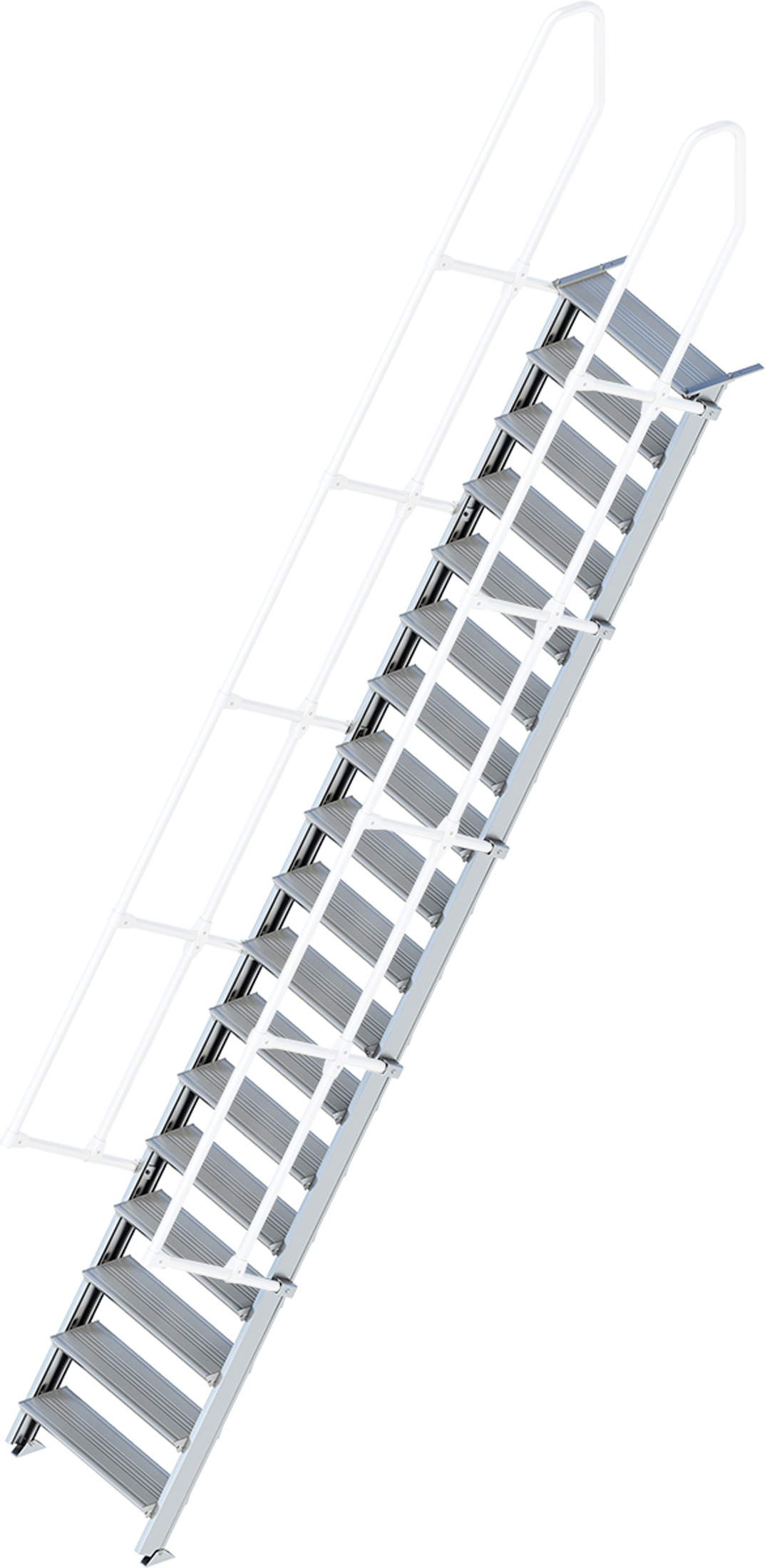 Layher Treppe 60° 18 Stufen - 800 mm breit
