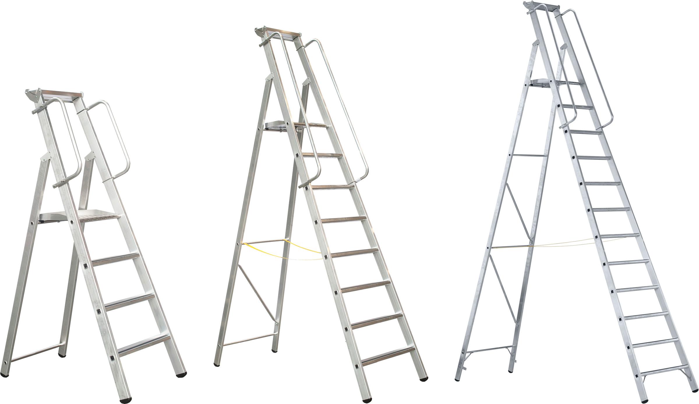 ZARGES Stufen Stehleiter Meistertritt S - Stufen