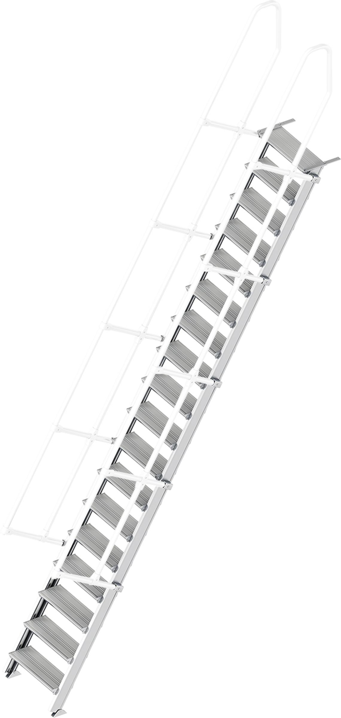 Layher Treppe 60° 18 Stufen - 600 mm breit