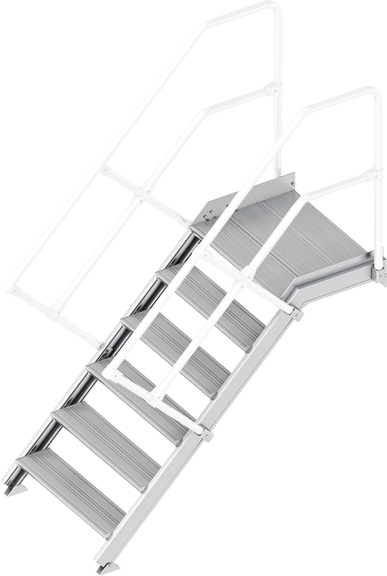 Layher Plattformtreppe 45° 6 Stufen - 800 mm breit