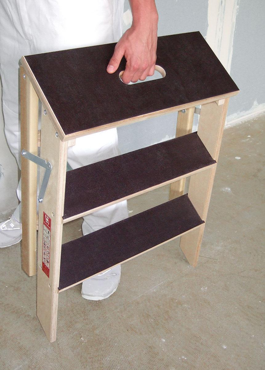 euroline holz stufenpodest eu c 1058003. Black Bedroom Furniture Sets. Home Design Ideas