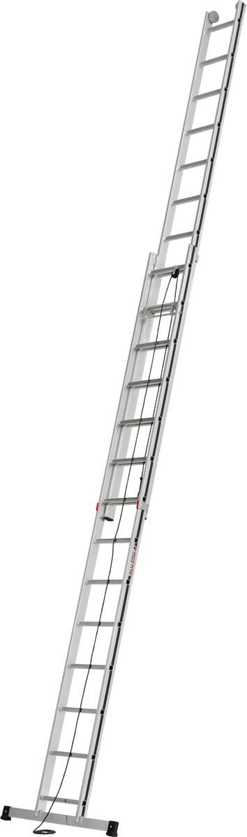 Hymer Alu-Pro Seilzugleiter 2-teilig 2x14 Sprossen