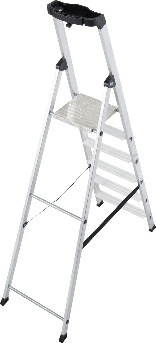 Krause Alu-Stufenstehleiter Solido® 6 Stufen