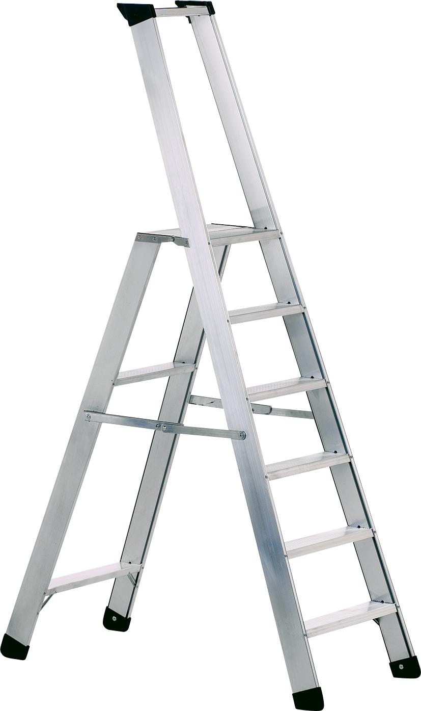ZARGES Stufen Stehleiter Seventec S - 8 Stufen