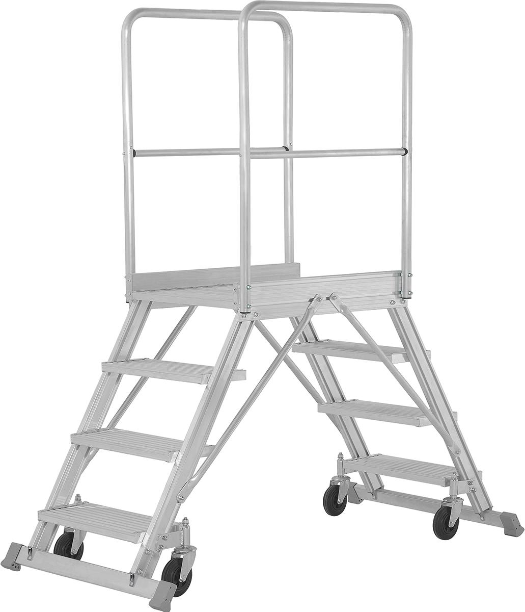Hymer Podesttreppe fahrbar 2x4 Stufen