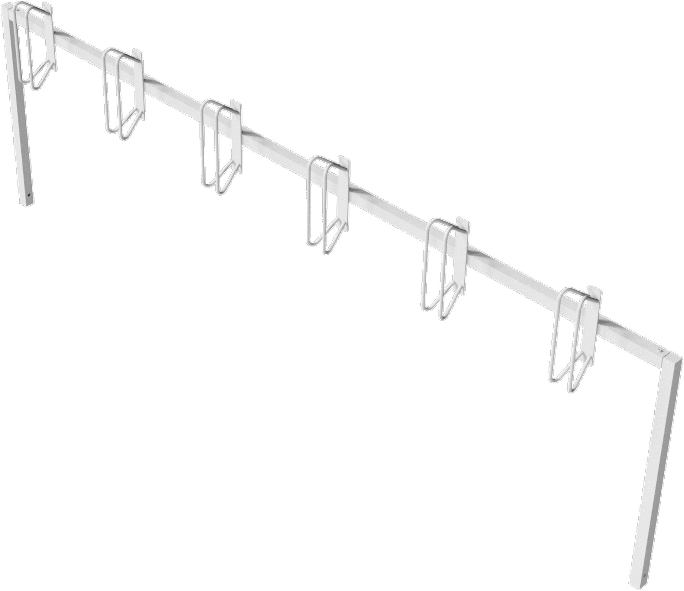 Schake Fahrradständer Stahl - Reihenparker