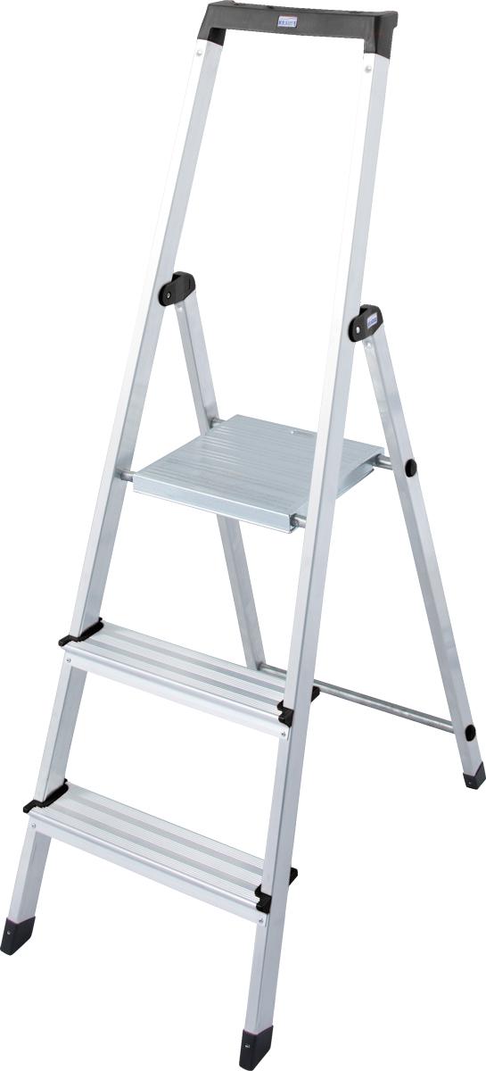 Krause Alu-Stufenstehleiter Solidy® 3 Stufen