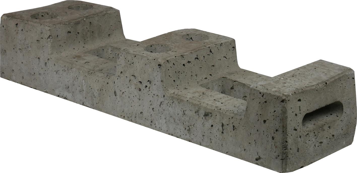 Schake Bauzaunfuß Beton 25,0 kg