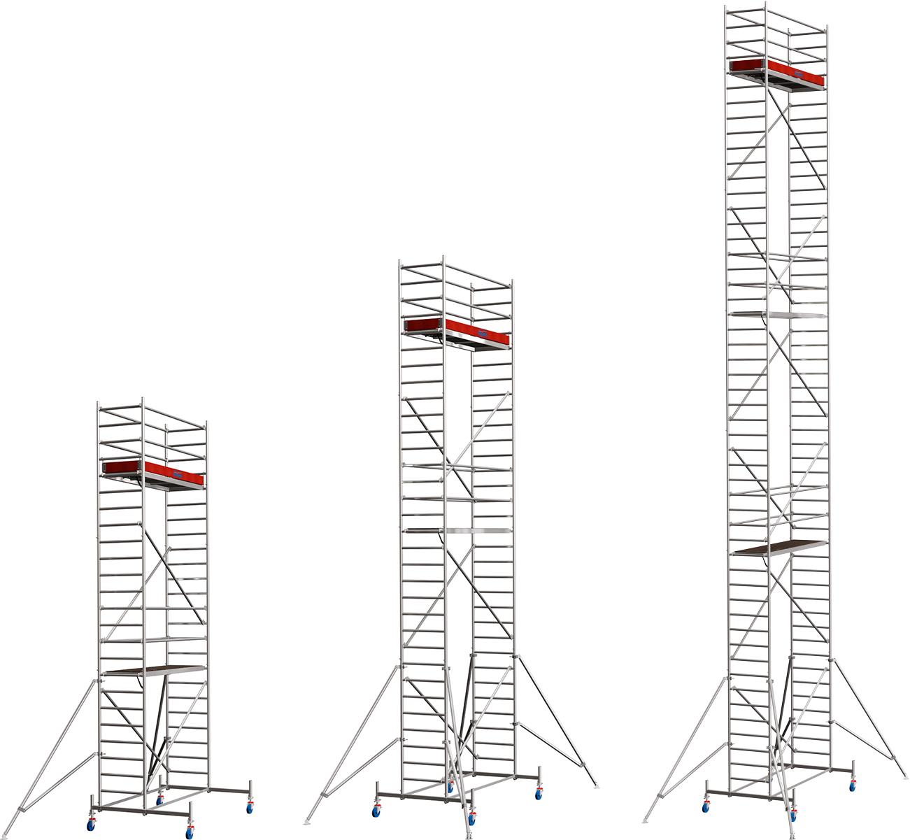 Rollgerüst Krause Stabilo Serie 10 Alu 0,75x2,50m
