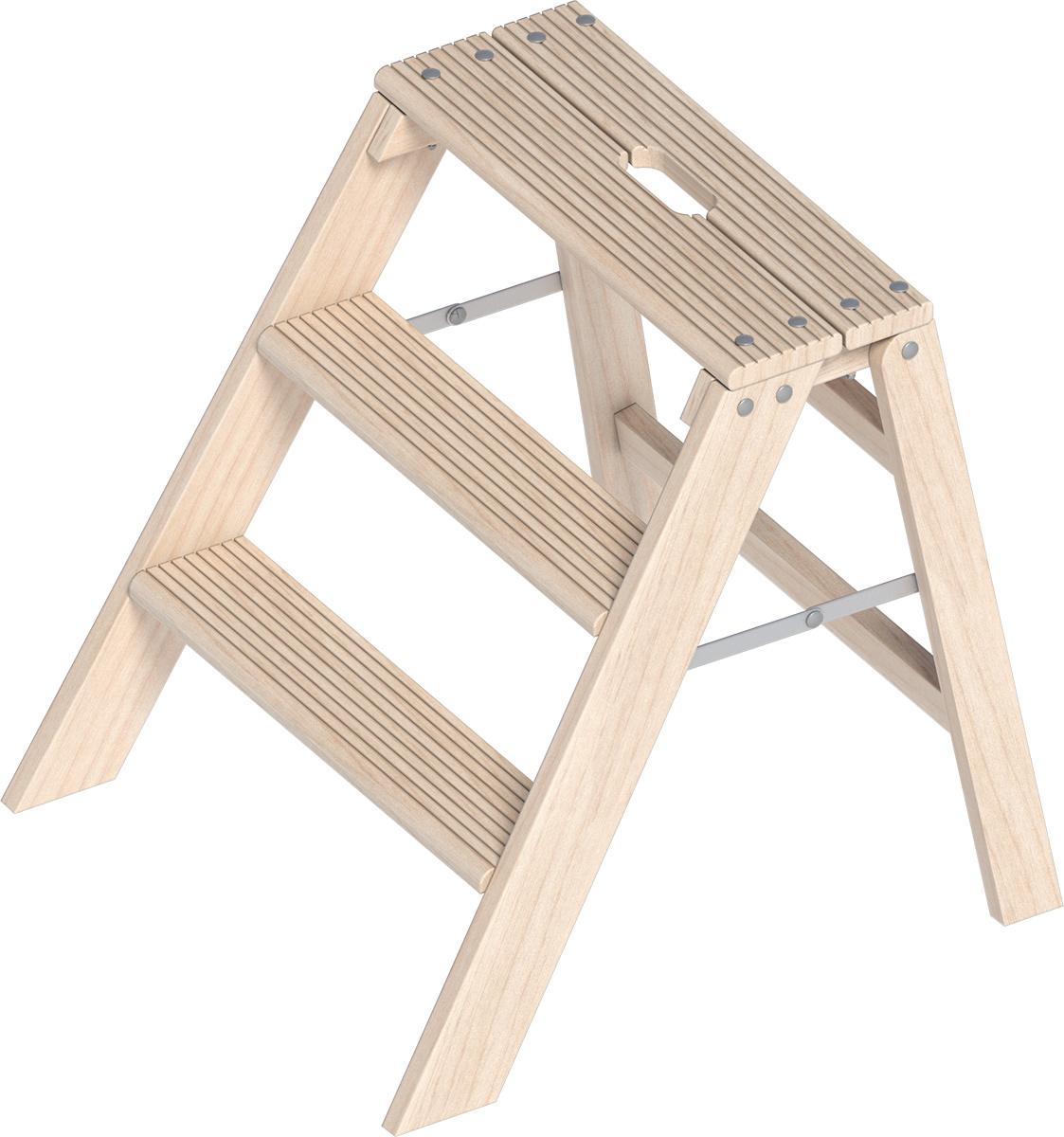 Zu unserem Stufentritt aus Holz
