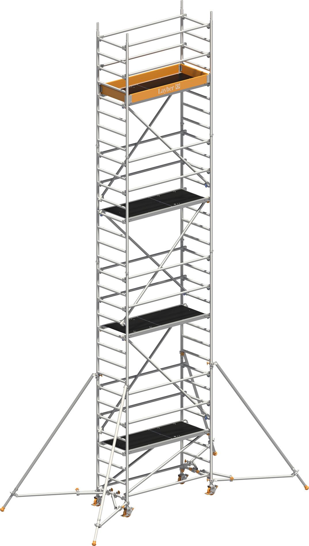 Rollgerüst Layher Uni Leicht P2 1403227