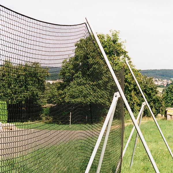 Dreibockgestelle für Papierfangnetze