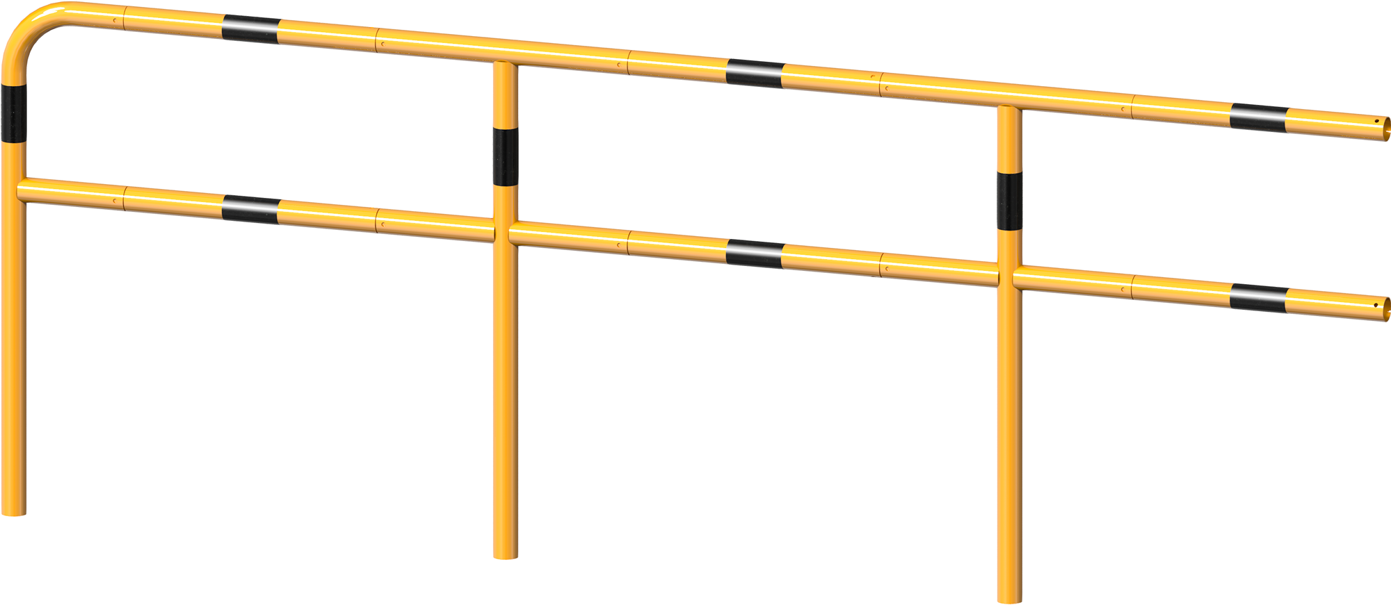 Schake Schutzgeländer Stahl Stecksystem Querholm Ø 48 mm