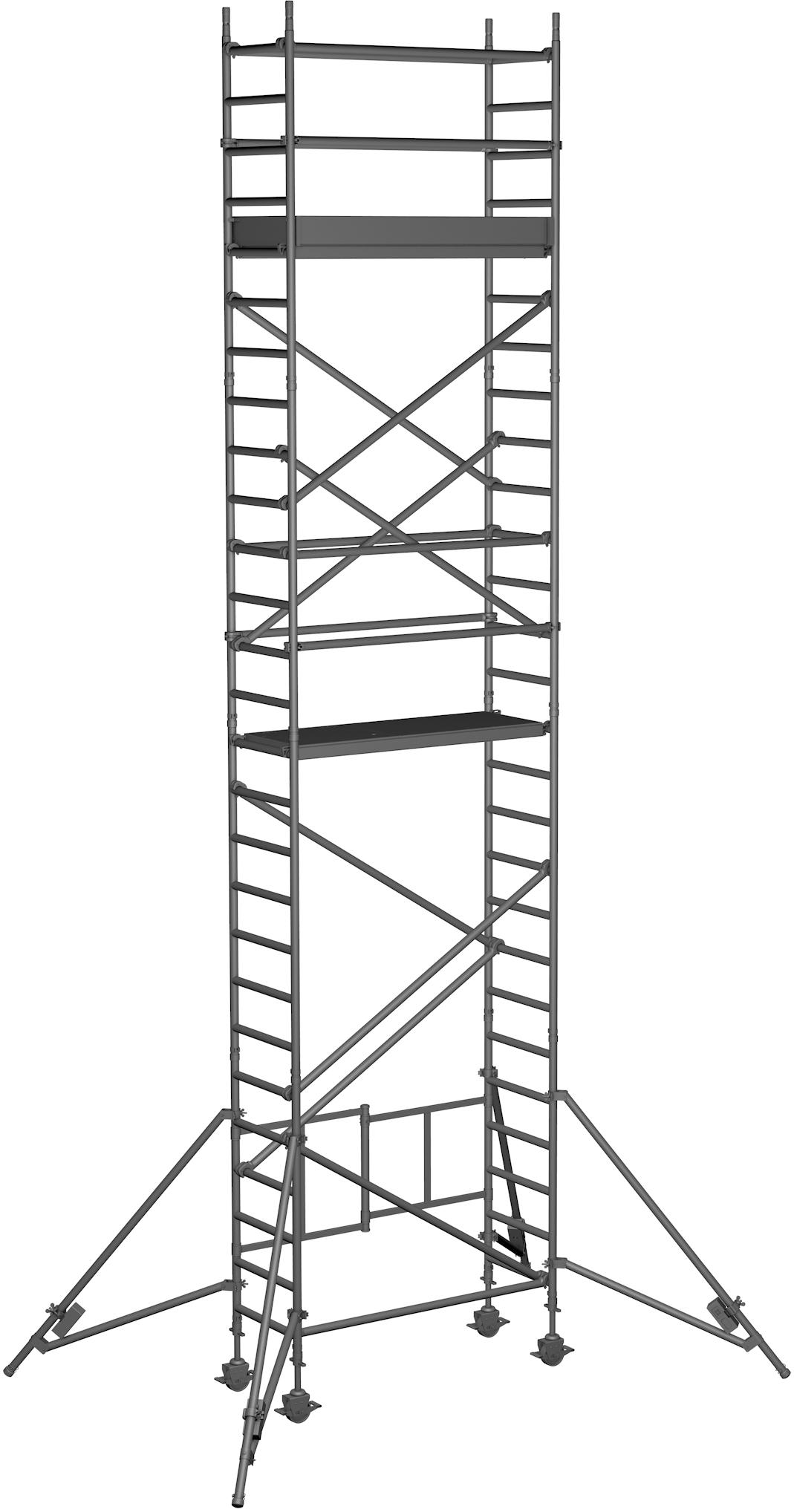 Klappgerüst ZARGES Reachmaster 1T - AH 8,70m