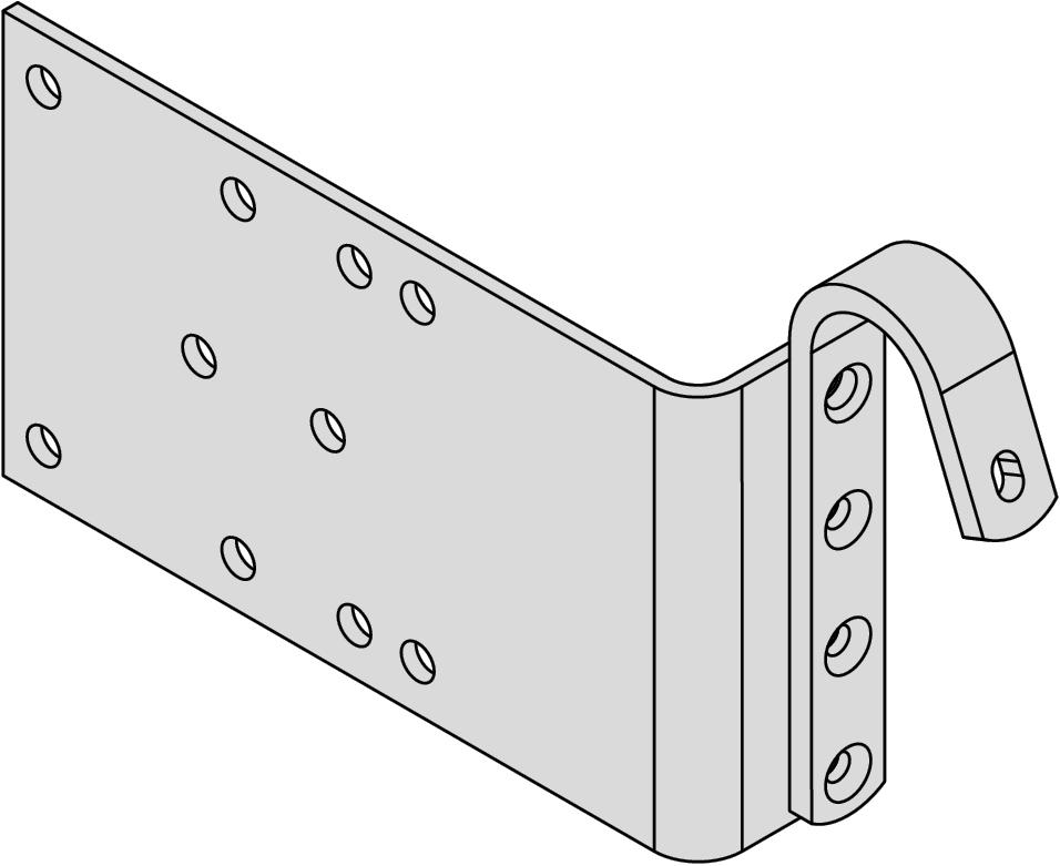 Hymer Einhängehakenset 100 mm