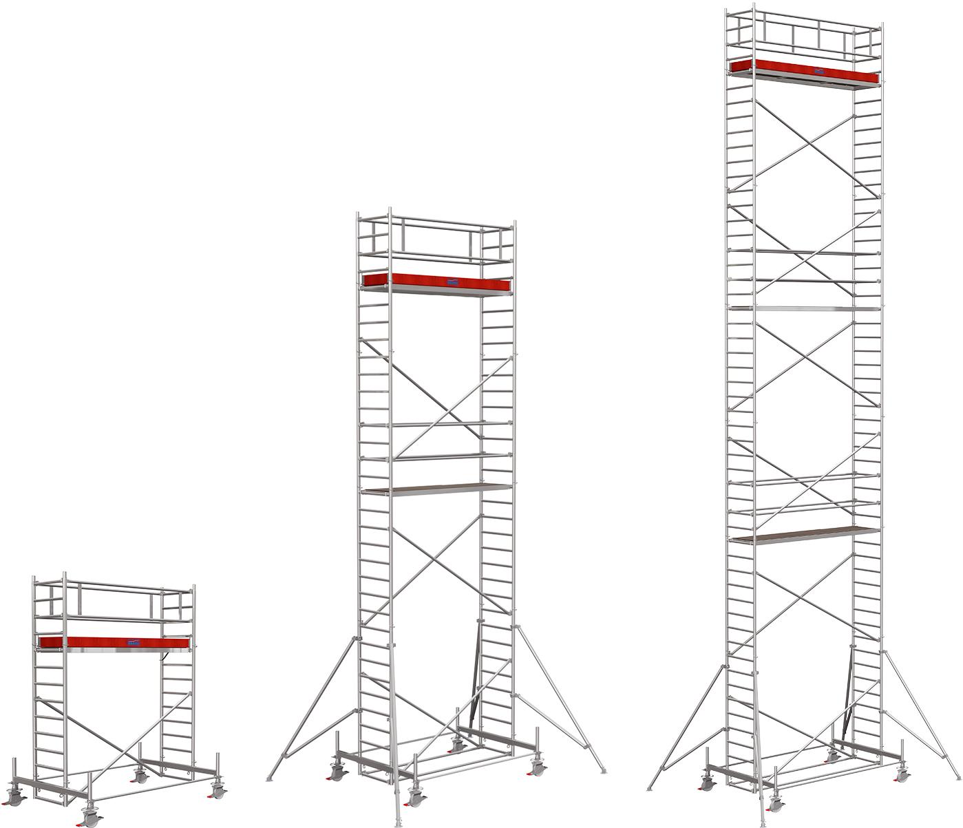 Rollgerüst Krause Stabilo Serie 100 Alu 0,75x3,00m