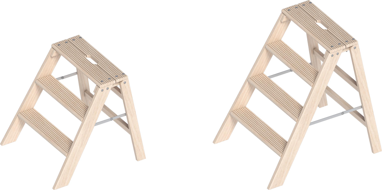 Layher Holz-Stufentritt