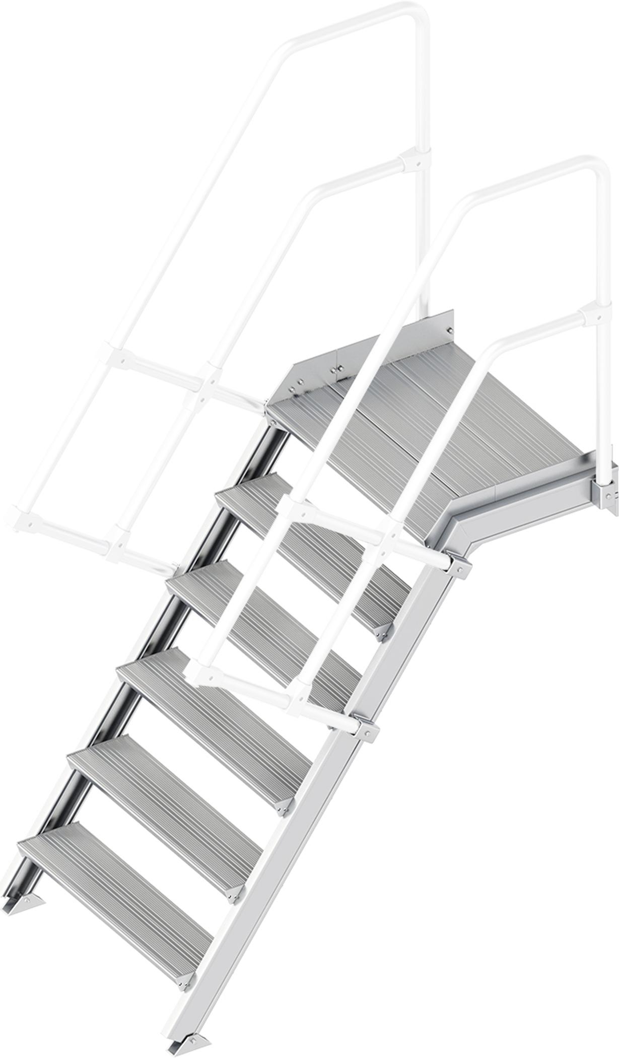 Layher Plattformtreppe 55° 6 Stufen - 800 mm breit