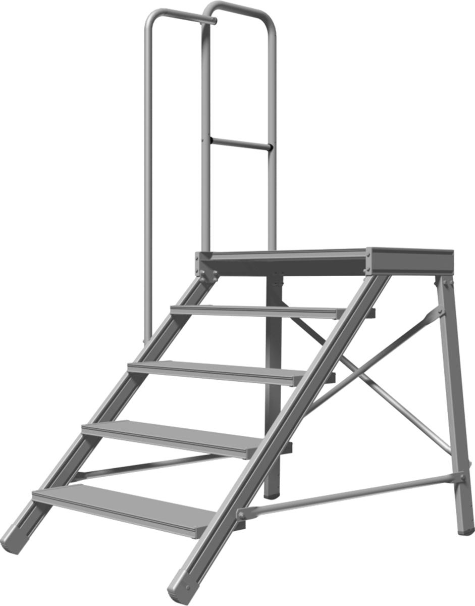 Hymer Treppenpodest Handlauf 4-5 Stufen