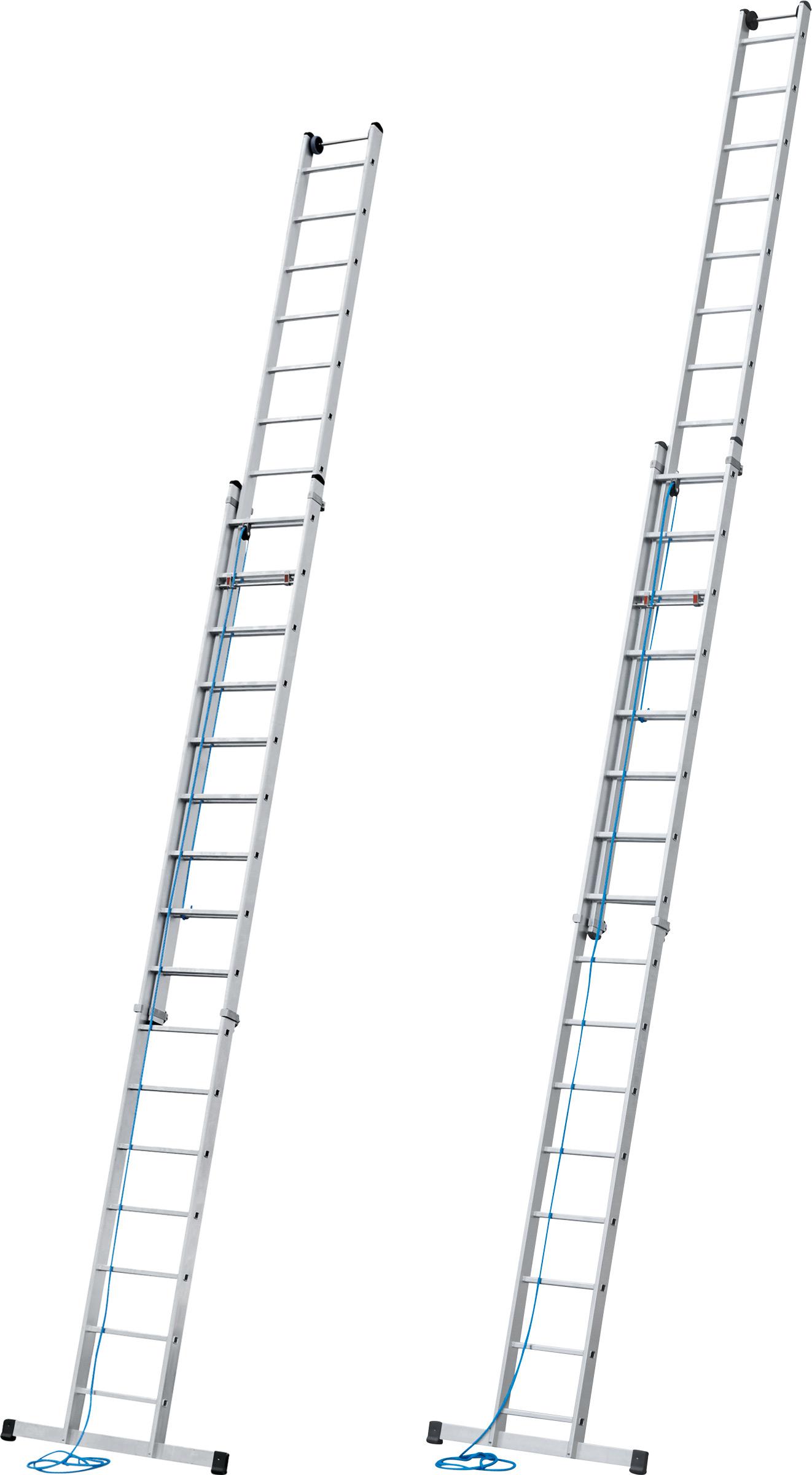 ZARGES Leiter Seilzugleiter Skyline 2E - Sprossen