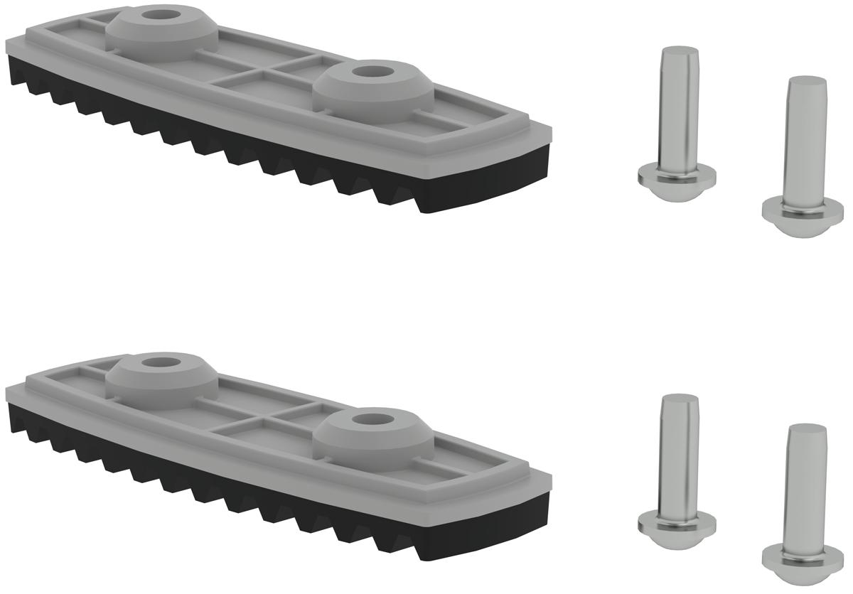 Günzburger nivello ®-Fußplatte Standard 85 mm | 98 mm