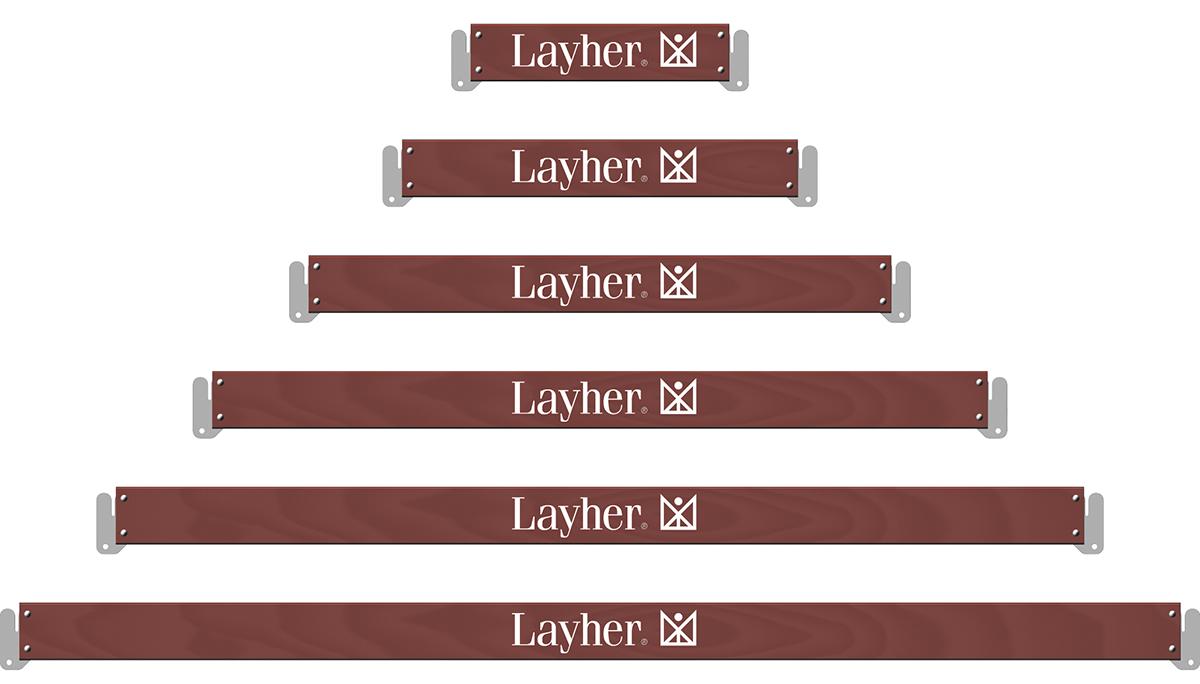 Layher Allround U-Bordbrett Holz