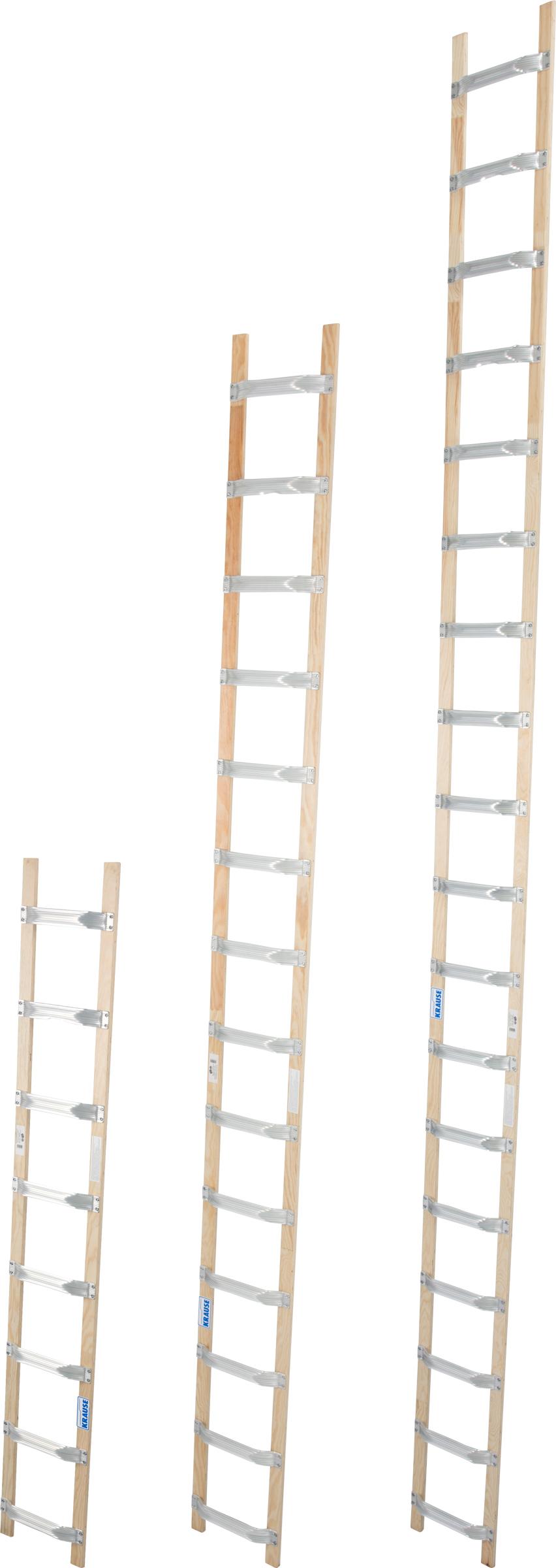 Krause Alu-Holz-Dachleiter