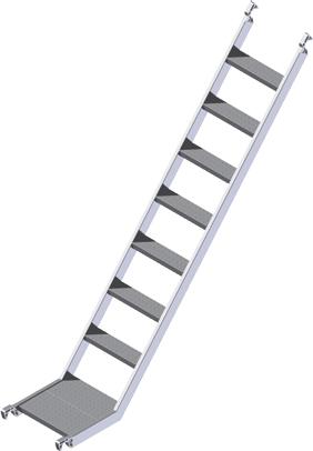 Zu unserem Zarges Treppengerüst