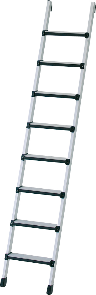 ZARGES Leiter Anlegeleiter Comfortstep L - 8 Stufen