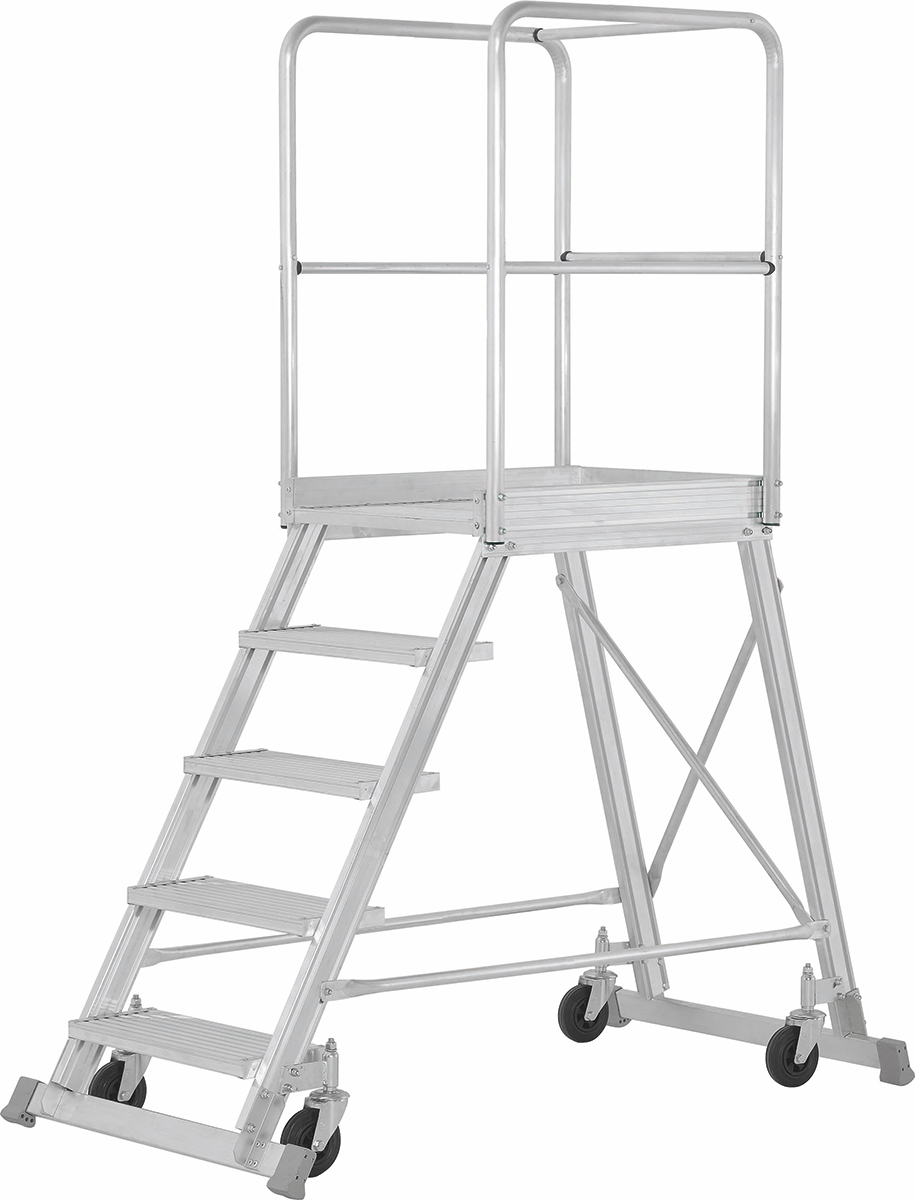 Hymer Podesttreppe fahrbar 7 Stufen