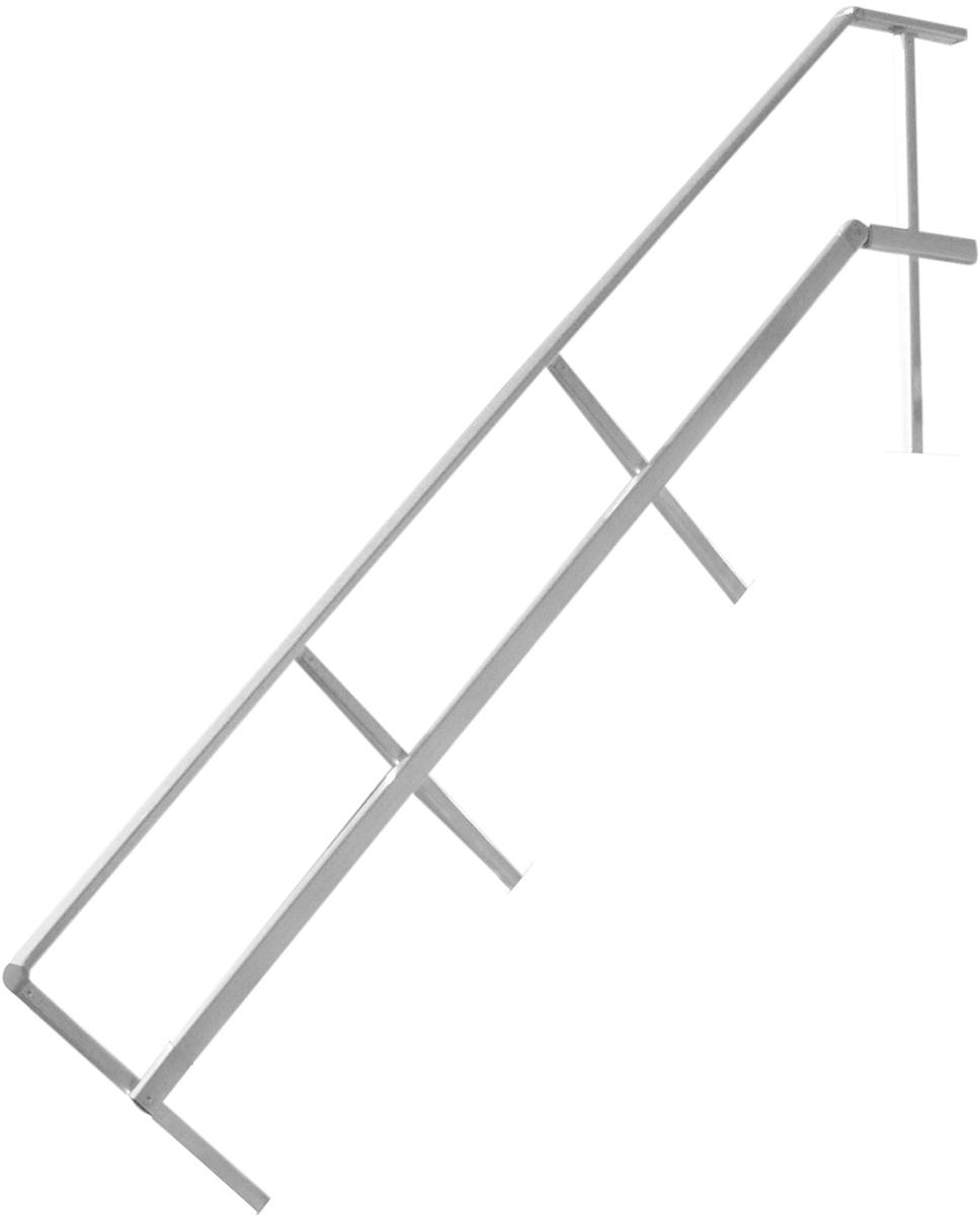 Hymer Handlauf Podesttreppe 45° 4 Stufen