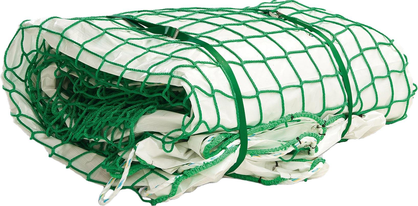 Huck Auffangnetz mit Schutzplane