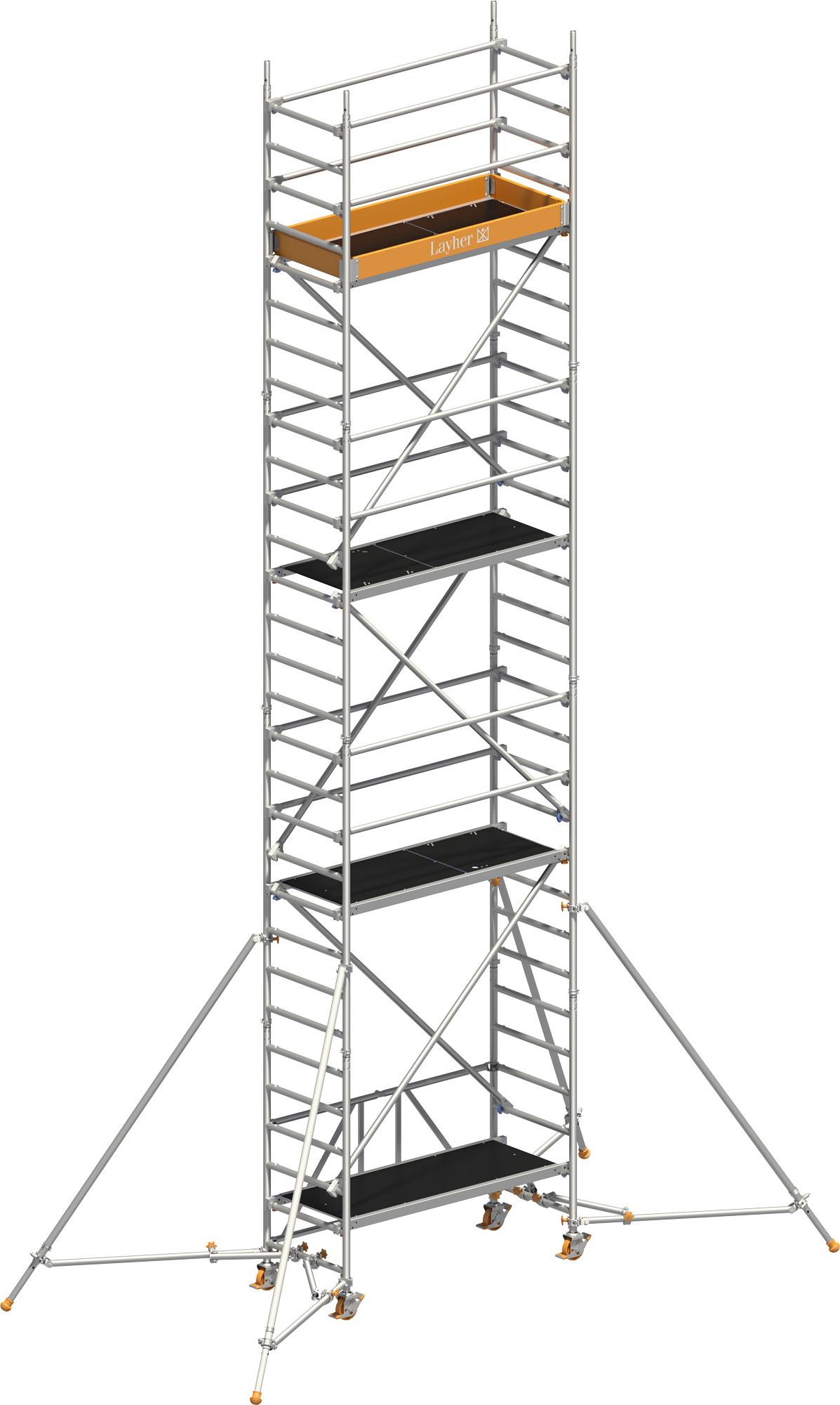 Rollgerüst Layher Zifa P2 1406237