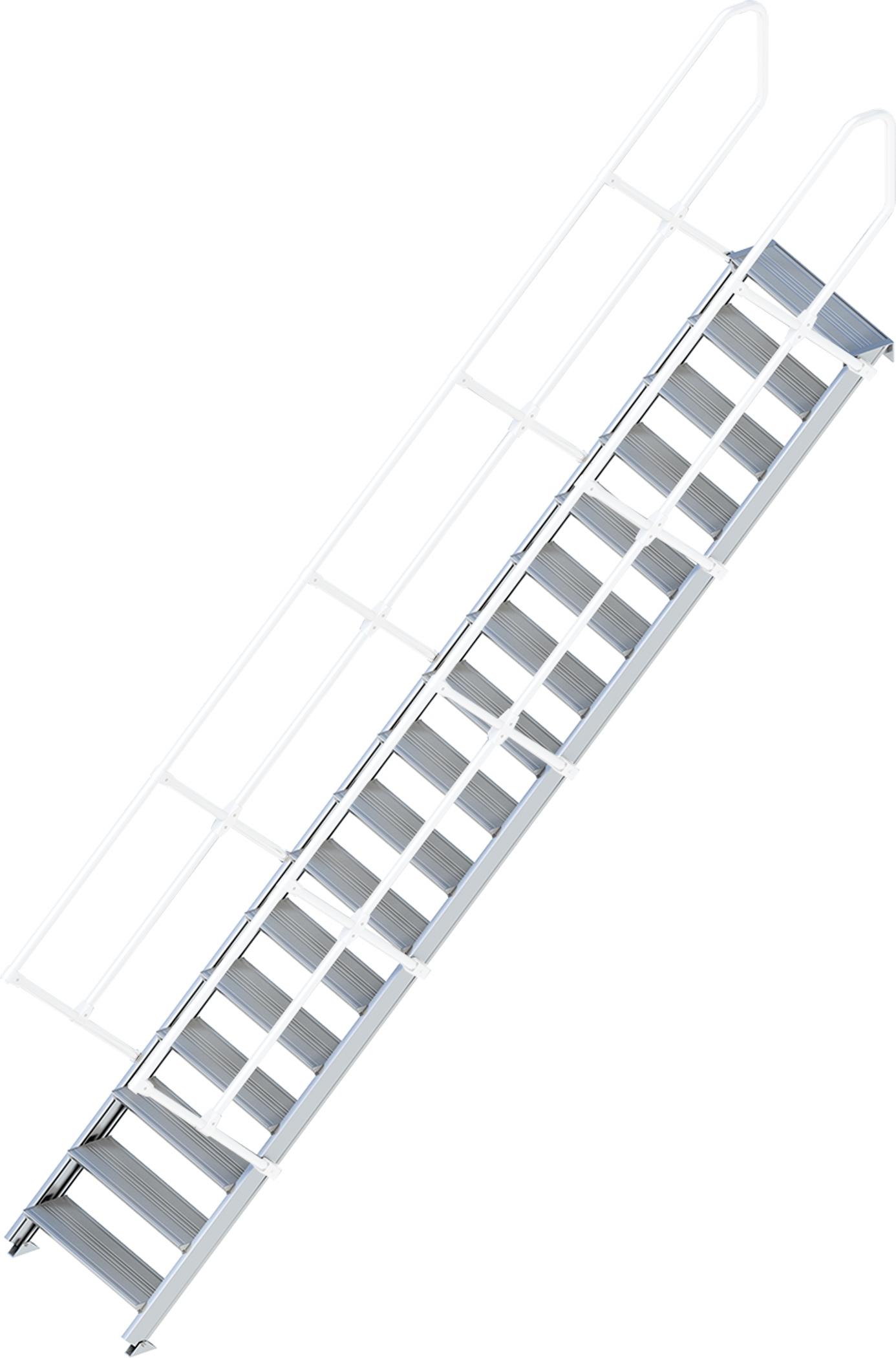 Layher Treppe 45° 17 Stufen - 800 mm breit