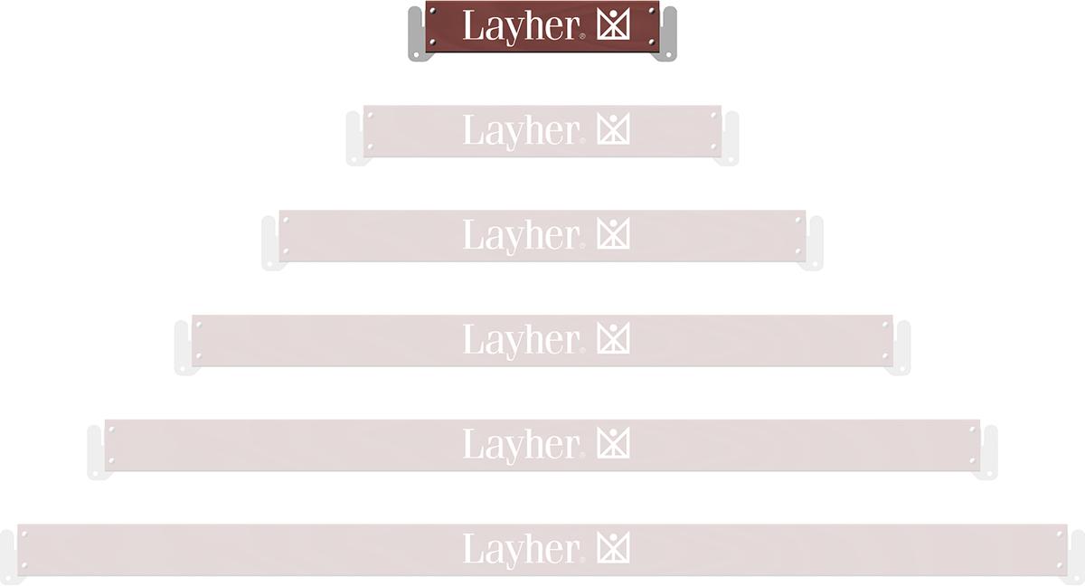 Layher Allround U-Bordbrett Holz 0,73 m