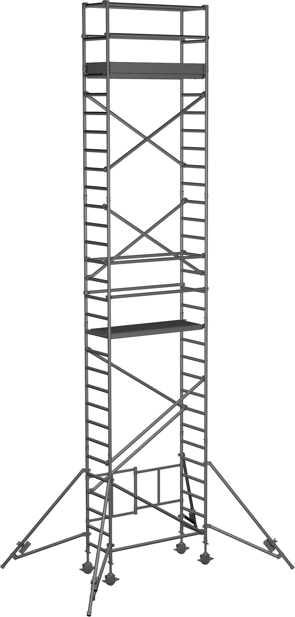 Klappgerüst ZARGES Reachmaster 1T - AH 9,85m