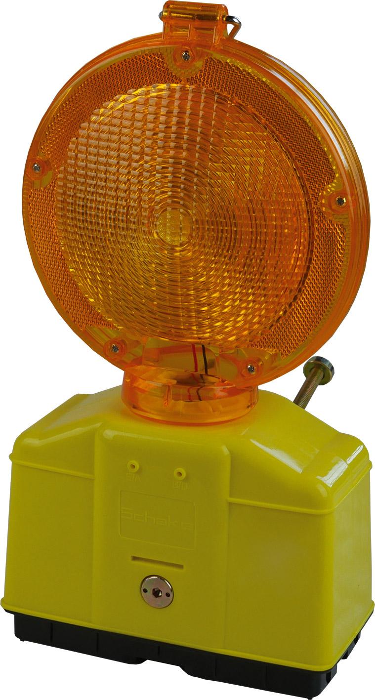 Schake Baustellen-Warnleuchte Gelbe Optik