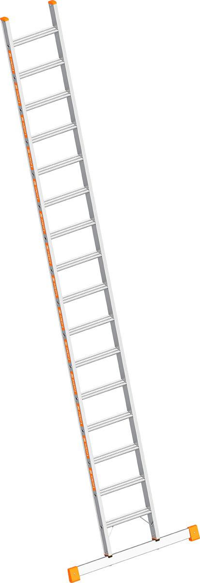 Layher Anlegeleiter Alu 16 Stufen